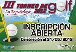 III Torneo de Golf La Española