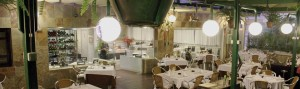 La terraza del restaurante la española