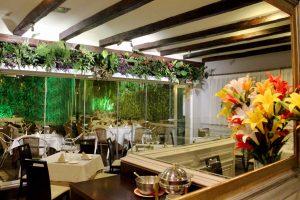 Salon del Restaurante en Pozuelo de Alarcón