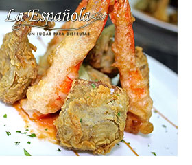 Menu 3 Restaurante Madrid La Española