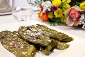 Pimientos Verdes Fritos- Restaurante La Española- Restaurante Pozuelo- Restaurante Madrid
