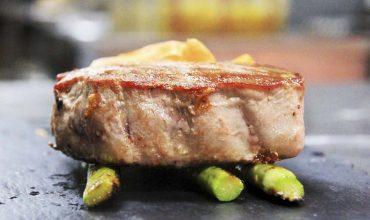 lomo atun rojo - restaurante La Española
