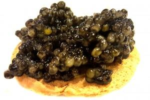 Caviar en el Restaurante la Española Madrid