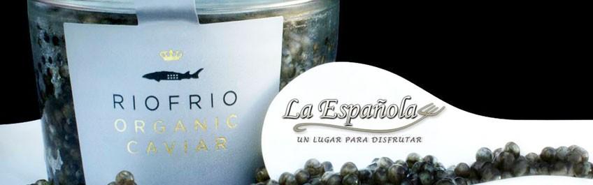 Caviar en el Restaurante Española en Pozuelo