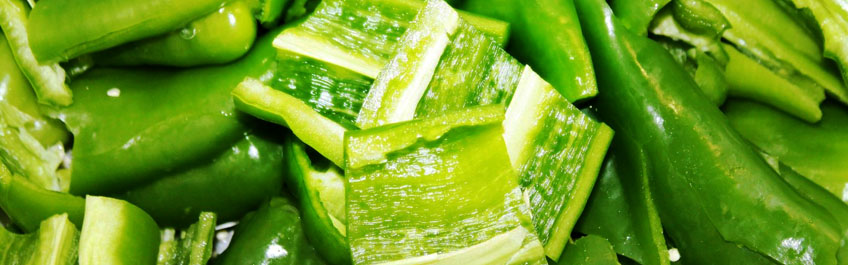 Como seleccionar un buen pimiento verde