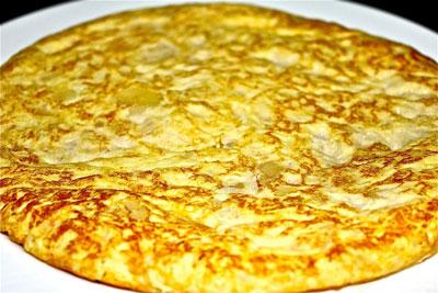 Restuarante especializado en tortilla de patatas